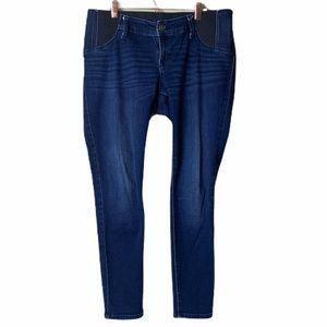 Isabel Maternity Skinny Dark Wash Skinny Jeans